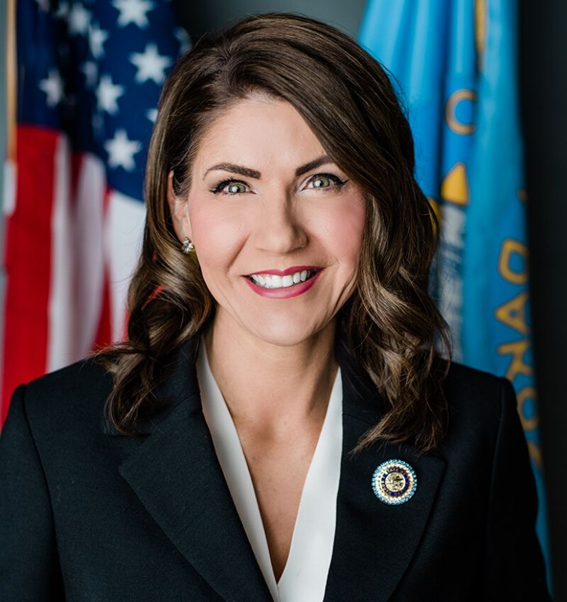 About Governor Noem